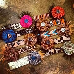 ❦ Headbands - Barbed Wire & Roses
