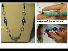 DIY tutorial collana estiva creata insieme - gioielli fai da te step by step