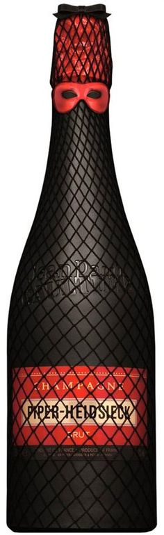 Piper-Heidsieck Jean-Paul Gaultier Limited Edition Champagne #cancan #gaultier #champagne