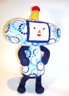 Katamari Cousin June by RainbowSewing on Etsy, $24.99