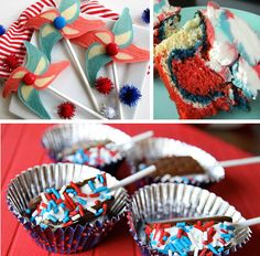 Some of my favorite Patriotic Recipes for the Forth of July!