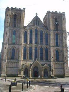 Ripon Cathedral - Wikipedia, the free encyclopedia. Built in 672 in Northumbria in what is now England.