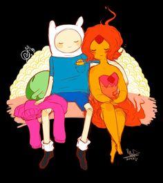 Adventure Time : Finn and Flame Princess