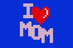 Cactus Cross Stitch, Cross Stitch Heart, Needlepoint Patterns, Embroidery Patterns, Halloween Canvas, Bobble Stitch, I Love Mom, Square Patterns, Modern Cross Stitch Patterns