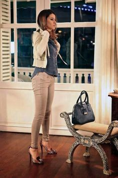 Office Outfits, Fall Outfits, Casual Outfits, Fashion Outfits, Iranian Beauty, Turkish Beauty, Casual Chic, Casual Wear, Casual Look For Women