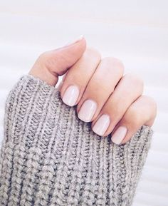 10 Eye-Catching Spring Nail Polish Trends: #6. Light Pink Nails