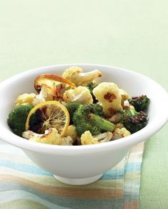 """See the """"Roasted Broccoli and Cauliflower with Lemon and Garlic"""" in our Cauliflower Recipes gallery"""