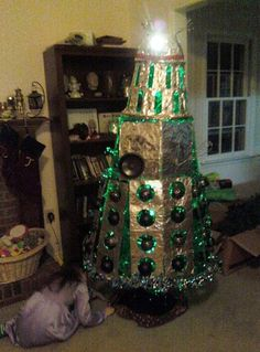 Now, that's a Christmas tree: 'Doctor Who' goes green