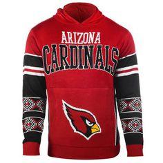 93e931664f8b Arizona Cardinals Cardinal Big Logo Ugly Christmas Sweater Pullover Hoodie   azcardinals  cardinals  nfl