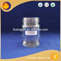 Alibaba gold supplier wholesale wide mouth store food empty kitchen canister glassware