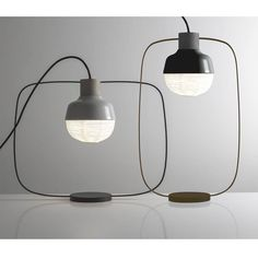 "Inspirée par une lanterne chinoise: Lampes de table ""The New Old Light"" de Kimu Design Studio. http://www.designers-avenue.com/fr/806-kimu-design"