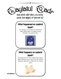 Laylatul Qadr Bulletin Board