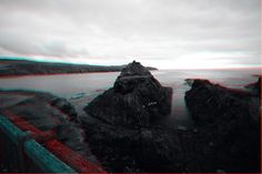 West Wales, near St Davids. (Use red/blue 3D glasses)
