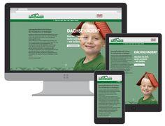 Responsive Webdesign (RWD) für Grüner Dachdecker in Esslingen