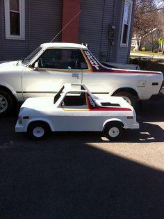 My Subaru Brat and Mini Brat