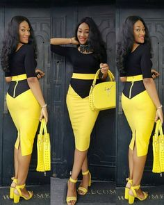 Resume Work In Style With These Classy And Smart Work Outfits (Photos) - iFashy African Dresses For Kids, Latest African Fashion Dresses, African Wear, African Attire, Women's Fashion Dresses, 50s Dresses, Elegant Dresses, Classy Dress, Classy Outfits