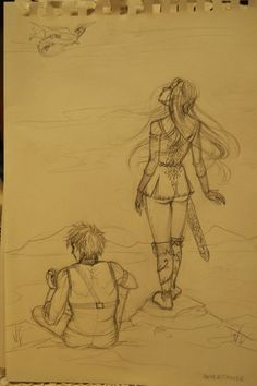 Arya_Eragon_Inheritance by giuly--chan