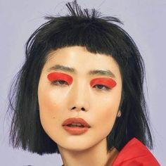 Gorgeous Makeup: Tips and Tricks With Eye Makeup and Eyeshadow – Makeup Design Ideas Makeup Art, Beauty Makeup, Eye Makeup, Hair Makeup, Hair Beauty, Monolid Makeup, Alien Makeup, Witch Makeup, Scary Makeup