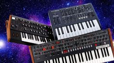 Our Top 5 Synthesizers - t.blog! Presented here is an overview of our top 5 synthesizers, including videos! #synths #electro #synthesizer #electronic #music #stars #top #tips #gear #keys #studio