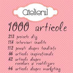 1000 articole