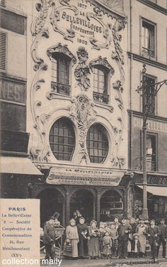 Société coopérative La Bellevilloise 34, rue de Ménilmontant Paris 75020