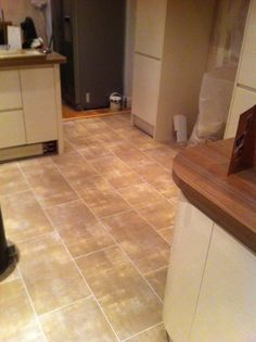 Polyflor Camaro Glazed Metalstone with an Ice Grout Strip Luxury Vinyl Tile Flooring, Grout, Floors, Ice, Stone, House, Home Tiles, Rock, Home