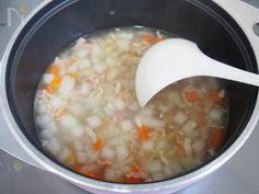 コンソメ不要&時短。根菜とベーコンのぽかぽかスープ by 河埜 玲子 | レシピサイト「Nadia | ナディア」プロの料理を無料で検索