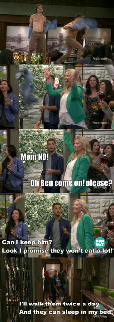 """""""The Return of the Mommy"""" Comedy Series, Comedy Show, Series Movies, Tv Series, Baby Daddy Tv Show, Baby Daddy Quotes, Melissa & Joey, Nerd Herd, Everything Baby"""