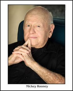 "Photo honoring Mickey Rooney on Tributes.com. ""http://www.mickeyrooney.com"""