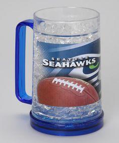 Love this Seattle Seahawks Freezer Mug on #zulily! #zulilyfinds