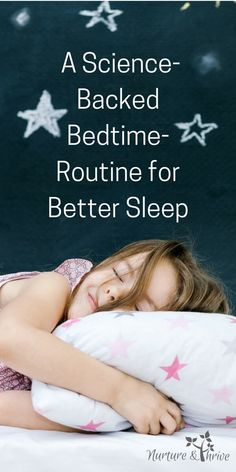 Sleep problems? Five Tips for A Better Bedtime Routine