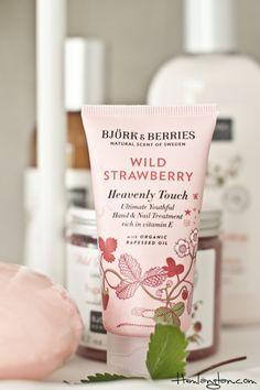björk & berries wild strawberry