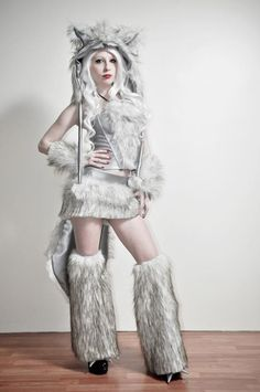 murder nurse the big bad wolf - Womens Wolf Halloween Costume