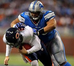 Suh has a history with Bears QB Jay Cutler, starting with a nasty forearm shove, during a game in December 2010, that was deemed a blow to the head and cost the ...