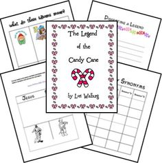 Great printables! Gingerbread Baby, Legend of the Candy Cane and The Wild Christmas Reindeer