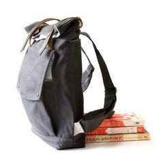 moop | backpack in gunmetal gray