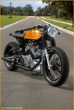 Doc Chops - Yamaha Virago 750 Cafe racer