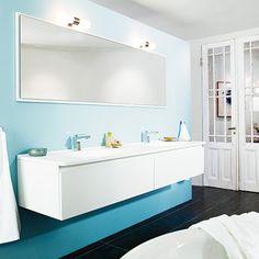 Flow badrumsinredning med tvättställ i Top Solid – Nytt kök badrum och tvättstuga - Vedum kök och bad AB