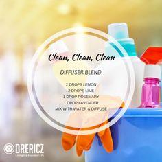 clean clean clean diffuser blend