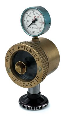 """Rolex Fathometer Made in the 1960s. Apparatus for checking the depth resistance of """"Oyster"""" watches."""