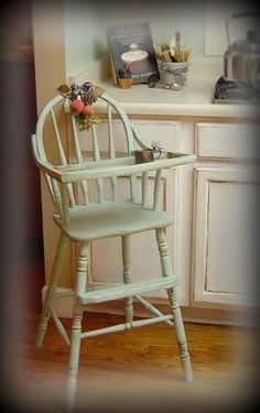 Vintage Wood High Chair Pvc Patio Chairs 35 Best Old Images The Wooden That Was Past Down Through Babies Year After Painted