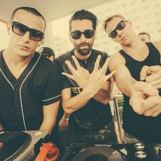 Snake, Yellow Claw & Diplo <3