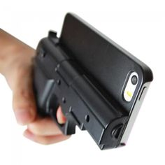 This Gun iPhone Case Could Be The Most Dangerous Accessory In Existence  #danger #gun #iphone #novelty #stupid