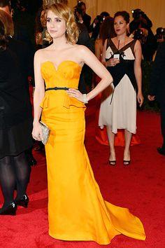 Emma Roberts at the Met Gala