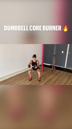 Cardio Workout At Home, Tabata Workouts, Dumbbell Workout, Easy Workouts, Ab Challenge, Physical Fitness, Workout Videos, Fit Bit, Baby Cartoon
