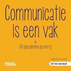 Communicatie is een vak