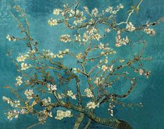Canvas Gallery Wrap Giclee Painting Blooming by ColorWheelPrints