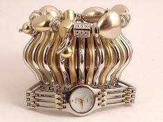 Set of Three Stacking Bracelets, Including Watch - Stack57