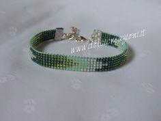 Bracciali realizzati a telaio - beadloom bracelets Bead loom bracelet  www.dolcicreazioni.it http://www.facebook.com/DolcicreazioniGioielli