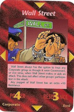Illuminati card game, wall_street